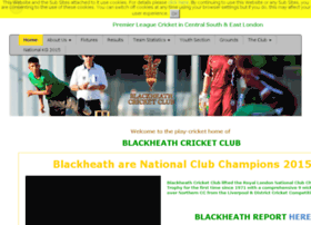 blackheath.play-cricket.com