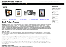 blackpictureframes.co.uk