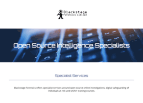 blackstage-forensics.co.uk