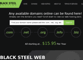 blacksteelhosting.com