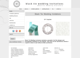 blacktieweddinginvitations.com.au