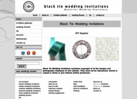 blacktieweddinginvitations.com.au