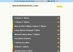blackwhitetshirts.com