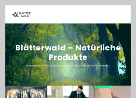 blaetterwald.org
