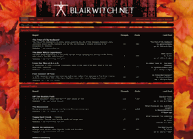 blairwitch.proboards.com