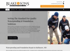blakeandsonscontracting.com