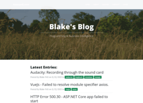 blakepell.com