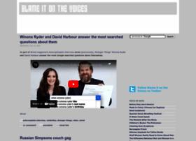 blameitonthevoices.com