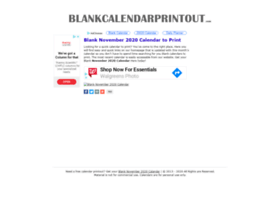 blankcalendarprintout.com