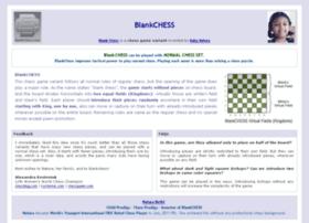 blankchess.com