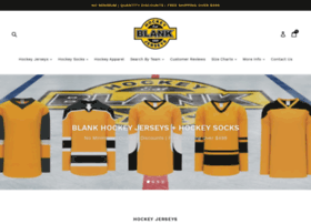 blankhockeyjerseys.com