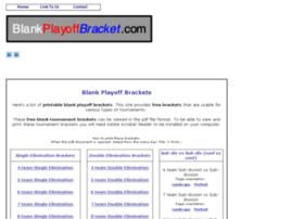 blankplayoffbracket.com