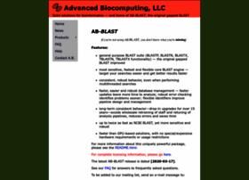 blast.advbiocomp.com