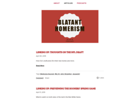blatanthomerism.com