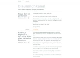 blaumilchkanal.wordpress.com