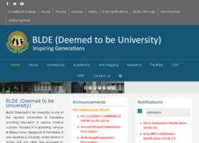 bldeuniversity.ac.in