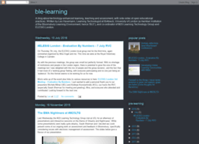 ble-learning.blogspot.co.uk