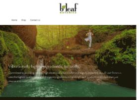 bleafbotanics.com