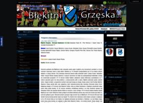 blekitnigrzeska.futbolowo.pl