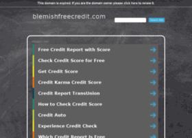blemishfreecredit.com