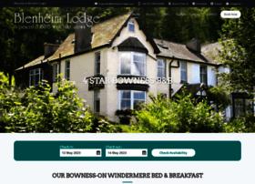 blenheim-lodge.com