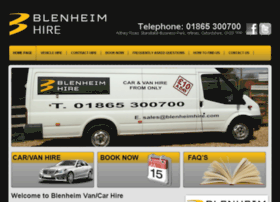 blenheimhire.awdealers.co.uk