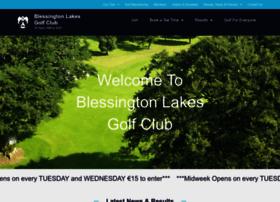 blessingtonlakesgolfclub.com