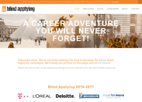 blindapplying.com