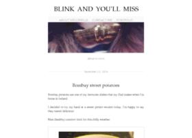 blinkandyoullmiss.com