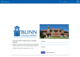 blinn.campusconcourse.com