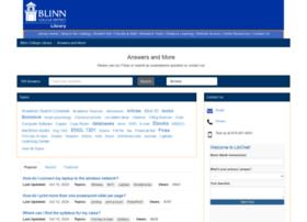 blinn.libanswers.com