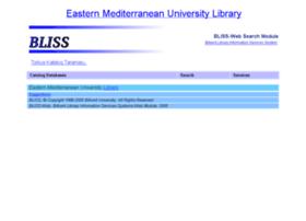 bliss.emu.edu.tr