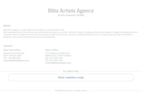 blitzartistsagency.com