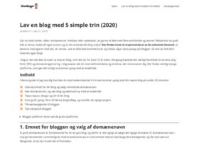 blivenblogger.dk