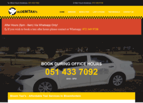 bloemtaxi.co.za
