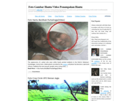 blog hantu blogspot com foto gambar hantu video penampa