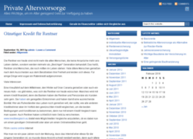 blog-private-altersvorsorge.de