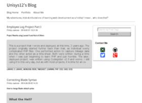 blog-unisys12.rhcloud.com