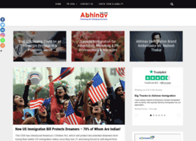 blog.abhinav.com