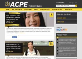 blog.acpe.edu.au
