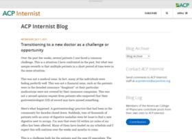 blog.acpinternist.org