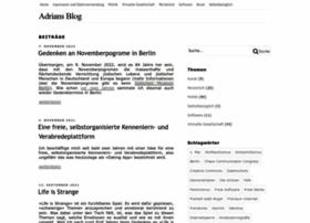 blog.adrianlang.de