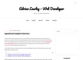 blog.adrianlawley.com
