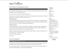 blog.afterthedeadline.com
