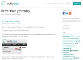 blog.agilezen.com