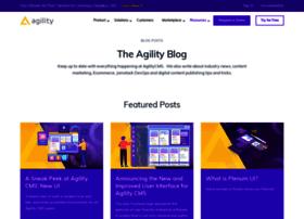 Blog.agilitycms.com