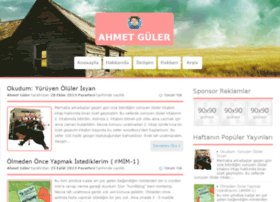 blog.ahmetguler.net