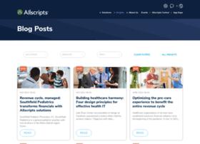 blog.allscripts.com