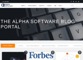 blog.alphasoftware.com