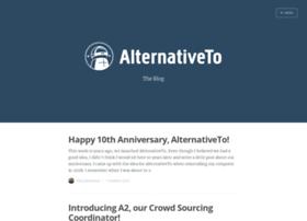 blog.alternativeto.net